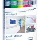 Legamaster chalk marker assorted 5pcs  - 001