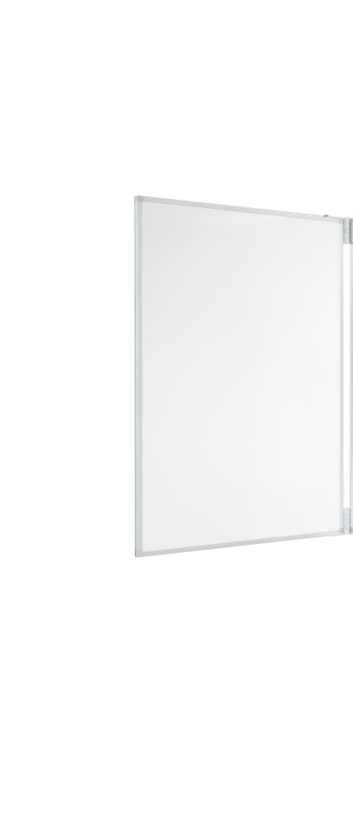 Legamaster e-Board panel lateral para e-Board 77inch blanco 2pzs - 001