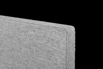 Legamaster BOARD-UP Akustik-Pinboard 75x50cm Quiet grey - 002