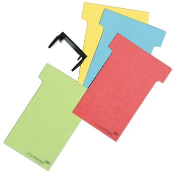 Legamaster planmodule T-kaart 101mm groen 100st - 002