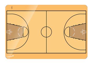 Legamaster ACCENTS bedrukt whiteboard basketbal 30x40cm - 001