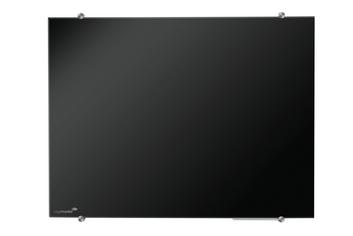 Legamaster glasbord 90x120cm zwart - 001