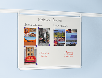 Legamaster LEGALINE PROFESSIONAL whiteboard 60x90cm rail system - 001