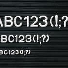 Legamaster supplementary character set 12mm 288pcs  - 001