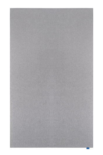 Legamaster WALL-UP Akustik-Pinboard 200x119,5cm Quiet grey - 001