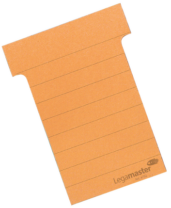 Legamaster planning module T-card 70mm orange 100pcs - 001