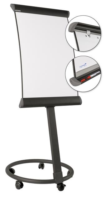 Legamaster TAURUS mobile Flipchart anthrazit - 001