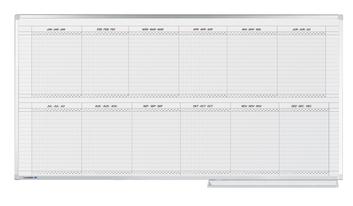 Legamaster PROFESSIONAL jaarplanner 30 items 100x200cm - 002