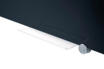 Legamaster glassboard 90x120cm black - 003