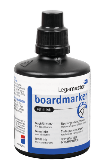Legamaster board marker refill ink green 100ml - 001