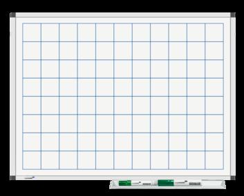 Legamaster PREMIUM bedrukt whiteboard liniatuur 45x65cm - 001