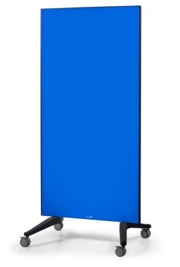 Legamaster mobile glassboard 90x175cm blue - 001
