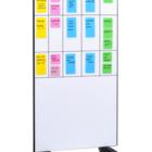 Legamaster tablero de vidrio móvil 90x175cm blanco  - 004