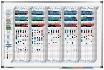 Legamaster PREMIUM week planner 35 days 60x90cm - 001