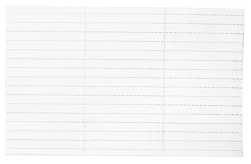 Legamaster label holder insert 30x120mm white 30pcs - 001