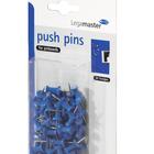 Legamaster push-pin blauw 50st  - 001