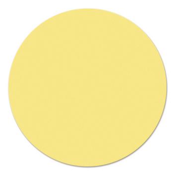 Legamaster workshopkaart cirkel 140mm geel 250st - 001