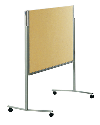 Legamaster PREMIUM mobile foldable workshop board beige - 001