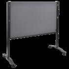 Legamaster PREMIUM PLUS workshop board foldable 150x120cm grey  - 005