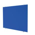 Legamaster tablero de vidrio 90x120cm azul  - 004