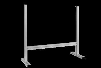 Legamaster ECONOMY desk divider 65x80cm transparent - 001