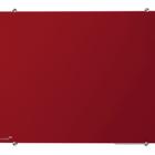 Legamaster tablero de vidrio 90x120cm rojo  - 001