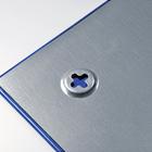 Legamaster tablero de vidrio 40x60cm azul  - 005