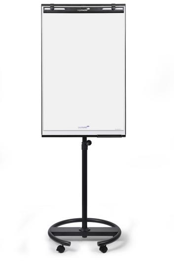 Legamaster ECONOMY TRIANGLE mobile flipchart round base - 001
