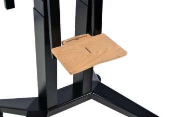Legamaster moTion accessory shelf small natural beech - 001