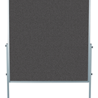 Legamaster PREMIUM mobile workshop board anthracite  - 001
