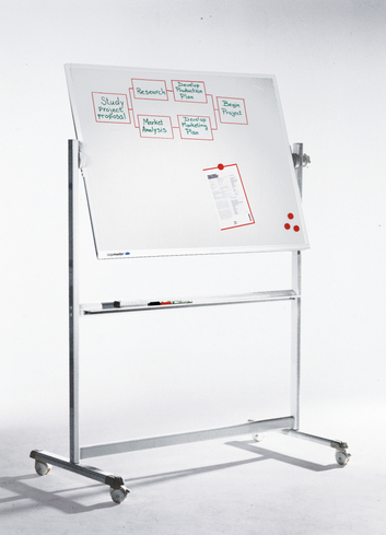 Legamaster PROFESSIONAL kantelbaar whiteboard 100x150cm - 001