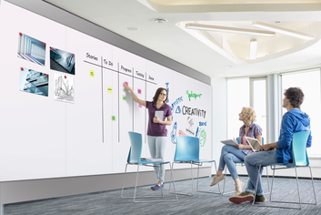 Legamaster WALL-UP whiteboard 119,5x200cm - 003
