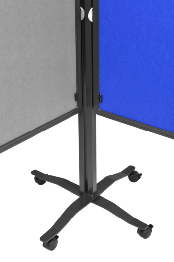 Legamaster PREMIUM PLUS workshop board foldable 150x120cm grey - 003