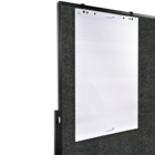Legamaster PREMIUM PLUS workshop board foldable 150x120cm anthracite  - 004
