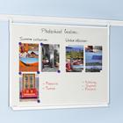 Legamaster LEGALINE whiteboard 120x180cm rail system  - 001