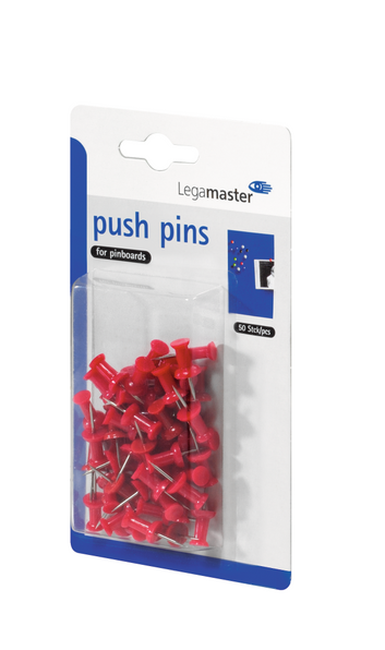 Legamaster push-pin red 50pcs - 001