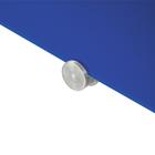 Legamaster tablero de vidrio 90x120cm azul  - 005
