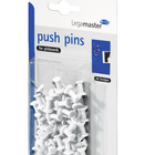 Legamaster push-pin white 50pcs  - 001