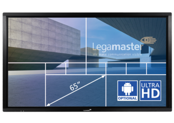 Legamaster e-Screen ETX touch monitor ETX-6510UHD zwart - 001