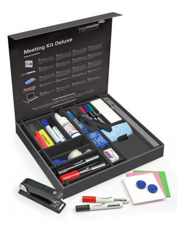 Legamaster meeting kit deluxe 60-part - 001