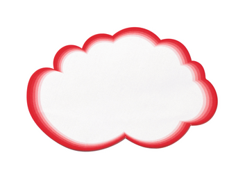 Legamaster carte d'animation nuages 330x610mm 20pcs - 001