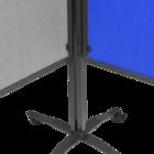 Legamaster PREMIUM PLUS workshop board foldable 150x120cm navy-blue  - 003