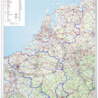 Legamaster PROFESSIONAL map Benelux 105x88cm  - 001