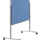 Legamaster PREMIUM mobiel inklapbaar workshopbord blauw-grijs  - 001