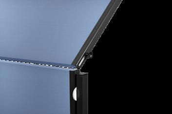 Legamaster PREMIUM PLUS workshop board foldable 150x120cm blue-grey - 002