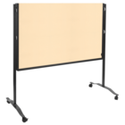 Legamaster PREMIUM PLUS workshop board foldable 150x120cm beige  - 005