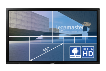 Legamaster e-Screen ETX touch monitor ETX-5510UHD black - 001