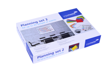 Legamaster Set de planeción 2 for 40 people, events, projects - 002
