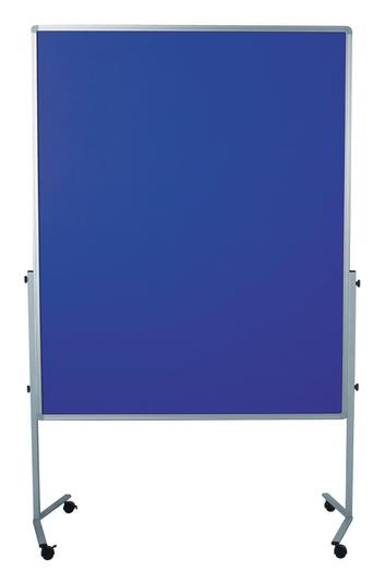 Legamaster PREMIUM mobiel workshopbord marineblauw - 001