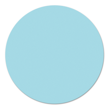 Legamaster workshop card circle 190mm light blue 250pcs - 001